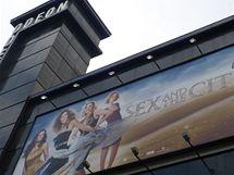 Z premiéry filmu Sex ve městě v Londýně - kino Odeon