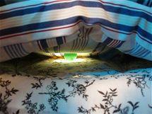 Mezi matracemi je i slavný hrášek