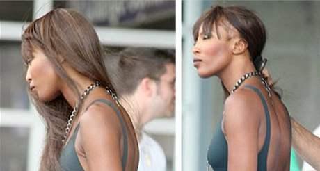 Modelka Naomi Campbellová