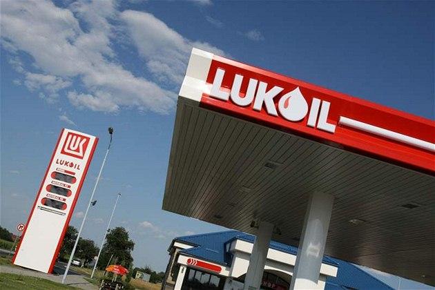 �erpací stanice Lukoil.