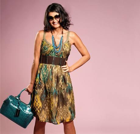 Letní móda na čtenářce Sylvě.