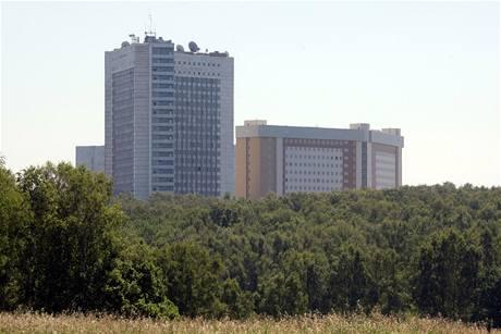Budova ruské tajné služby na předměstí Mosky (29. června 2010)