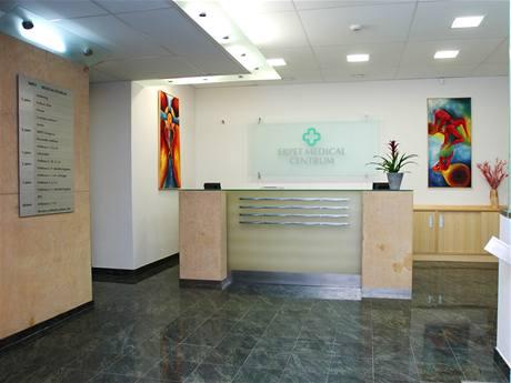 Recepce zubní kliniky Erpet Medical