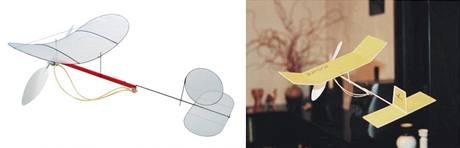 Levné stavebnice halových modelů Butterly a Junior