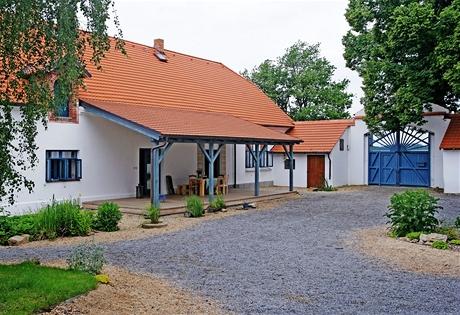 Původní prvky na usedlosti Drtina zůstaly při rekonstrukci zachovány