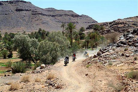 Čtvrtek 24.06. Offroady jsou v Maroku kouzelné