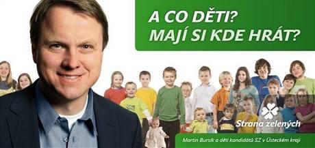 Předvolební billboard s textem písně Až.
