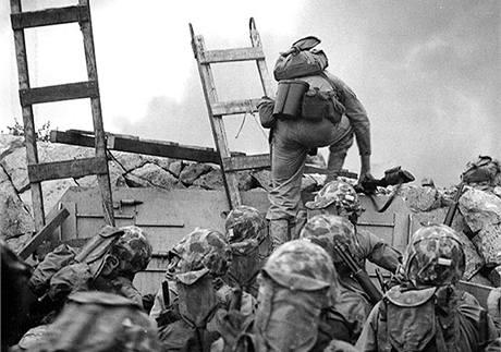 Invaze amerických jednotek v jihohorejském Inčchonu. (15. září 1950)