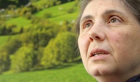Odcházející ministryně životního prostředí Rut Bízková.