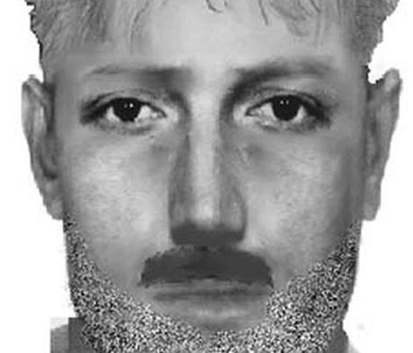 Identikit podezřelého muže, který napadl dívku a nechal ji svázanou ve vojenském prostoru Brdy