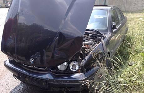 Policie pronásledovala řidiče BMW