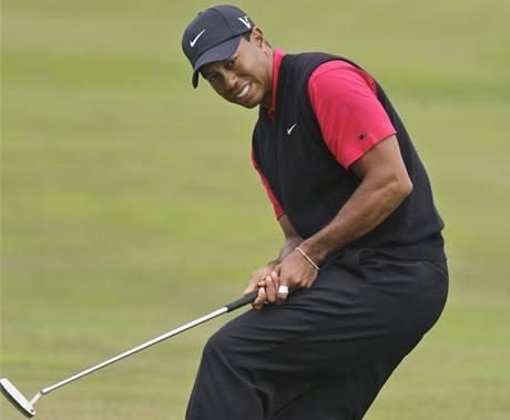 Tiger Woods, čtvrté kolo US Open 2010.