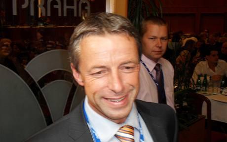 Pražský primátor Pavel Béma na sněmu regionální ODS (24. 6. 2010)