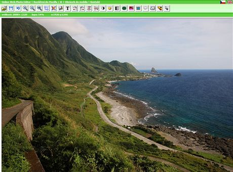 Online Web Photo Editor