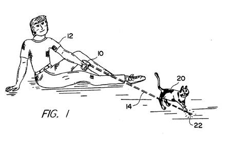 Method of exercising a cat - 5443036
