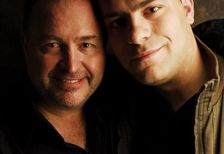 Michal David se synem Petrem