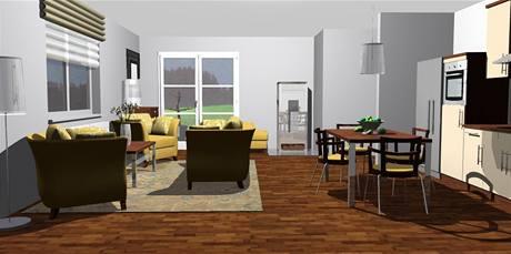 Zařízení obývací kuchyně jak co nejlépe vyřešit zapeklitý