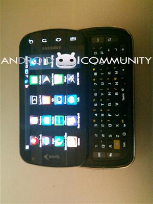 Reálná podoba Galaxy S Pro s klávesnicí