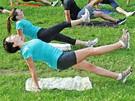 Trénink na maraton - cviky