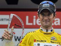 Lucemburský cyklista Marc Schleck vyhrál závěrečnou časovku závodu Kolem Švýcarska.