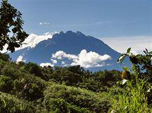 Mt. Kinabalu, nejvyšší hora Bornea