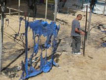 Neznámí ozbrojenci zaútočili na dětský tábor OSN v Pásmu Gazy (28. června 2010)