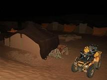 Úterý 22.6. A pak spát třeba v klasických berberských stanech-dobrou noc