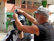 Čtvrtek 24.06. Fanánek pojede zbytek dnešní cesty s kamerou na helmě