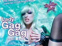 Lady Gag Gag - nafukovací panna v podobě slavné zpěvačky