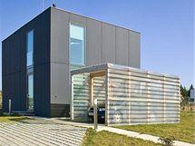 Úspornost domu vychází z jednoduchého  tvaru