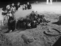Španělsko, poslední večer s přáteli z El Campella