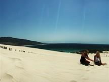Španělsko, písečné duny na Tarifě