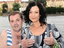 Mojmír Maděrič a Šárka Ulrichová