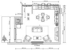 Propojení kuchyně s obývacím pokojem