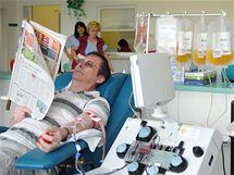 Transfúzní stanice v bohunické nemocnici