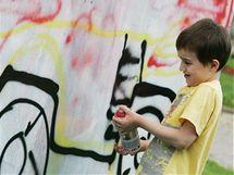 Na Obilním trhu soutěžili Brňané v malování graffiti