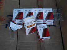 Na parkovišti u Devíti křížů našli celníci neoznačené cigarety za tři sta tisíc