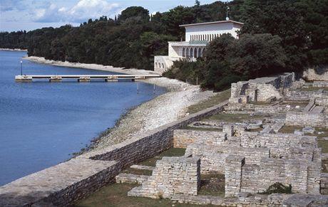 Chorvatsko, Brijunské ostrovy, bývalá Titova vila