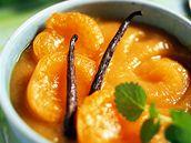 Meruňky s vanilkou.