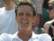 POHODA. Tomáš Berdych porazil Rogera Federera senzačně postoupil do semifinále Wimbledonu