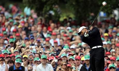 Tiger Woods během charitativního turnaje JP McManus v Irsku