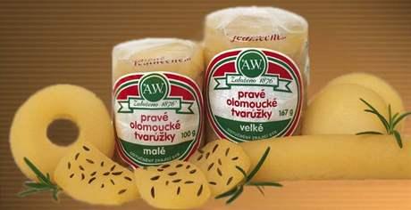 Olomoucké tvarůžky.