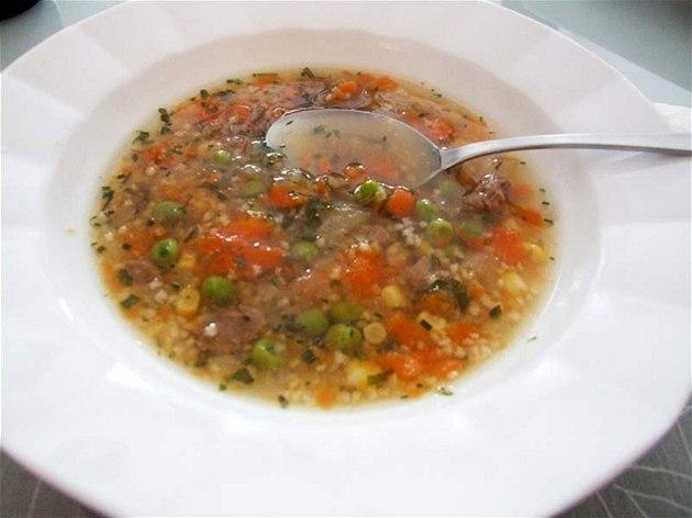 Polévka z domácího vývaru