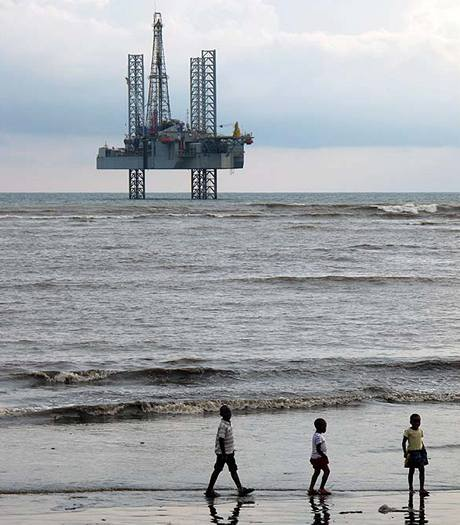 Ropná plošina v Limbe