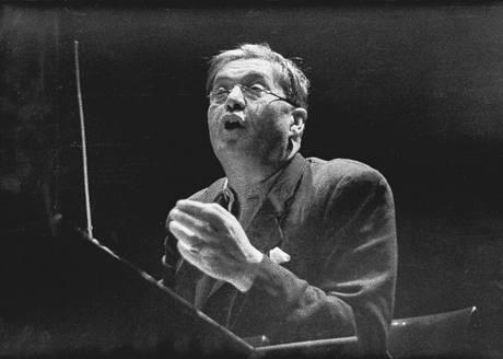Dirigent Václav Talich v roce 1938