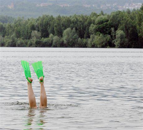 Barbora u Teplic je rájem potápěčů