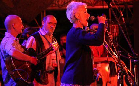 Zahrad 2010 - skupina Spirituál kvintet