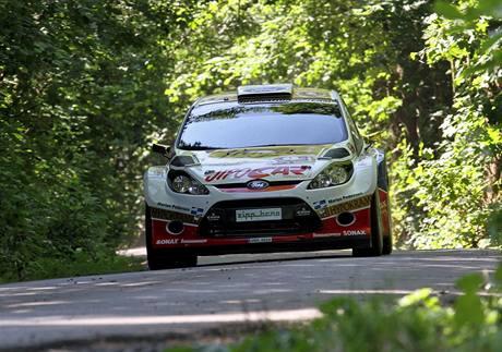 Martin Prokop obsadil v Rally Bohemia 2010 třetí místo.