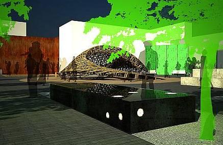 Vizualizace - centrum Žiliny