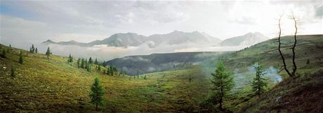 Rusko. Sajany vás ohromí hlavně dokonalou přírodou